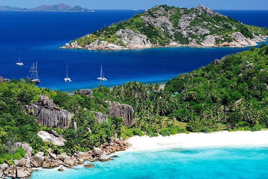 25 aprile 2018 alle Seychelles
